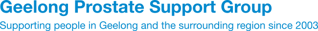 Geelong Prostate Support Group Logo